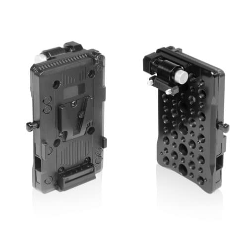 SHAPE V-mount pivoting battery plate for monitor cage