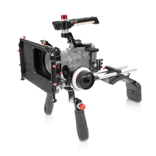 SONY A7R4 SHOULDER MOUNT WITH MATTE BOX AND FOLLOW FOCUS