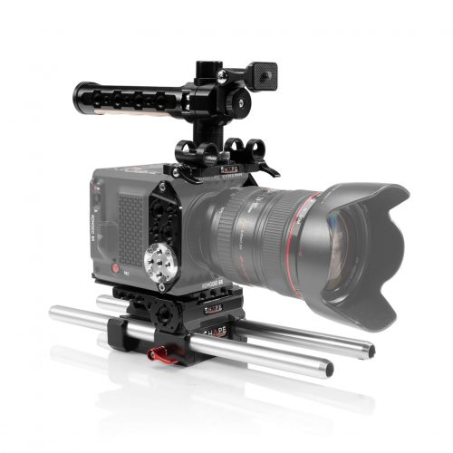 SHAPE full camera cage with 15 mm LW rod system for RED® KOMODO™