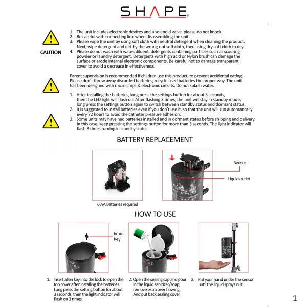 12 Scstz Instruction Manual Page 1