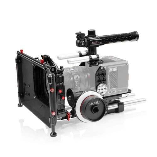 SHAPE RED® KOMODO™ kit with Matte box and Follow Focus