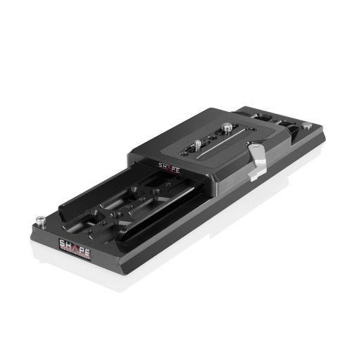 SHAPE Universal bridge plate Arri and 12″ dovetail plate Arri standard