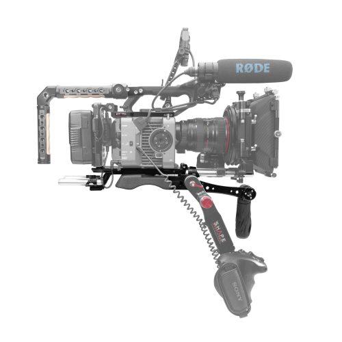 Ensemble de baseplate, plaque supérieure et poignée quick handle pour Sony FX6