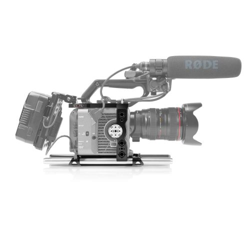 Sony FX6 camera cage and 15 mm LW rod system