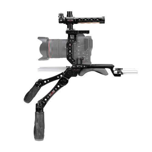 Canon C70 baseplate, cage with handles