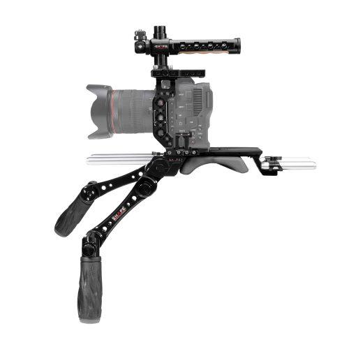 Base et cage avec poignées pour Canon C70
