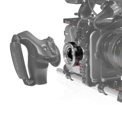 SONY FX6 Side handle adaptor to ARRI Rosette