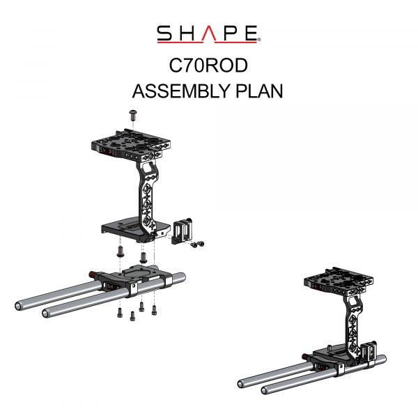 13 C70rod Assembly Plan