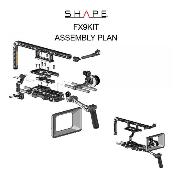 14 Shape Fx9kit Assembly Plan