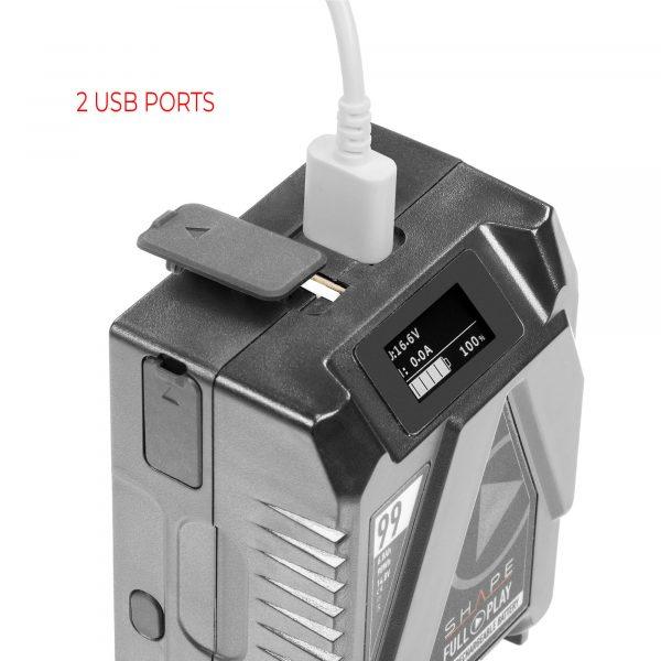 07 V99mb Usb Ports Insert