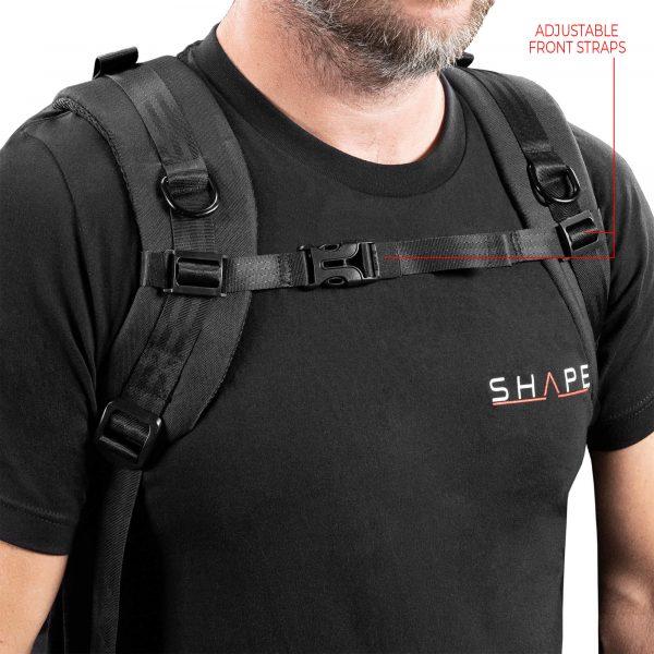 12 Tbag On Back Front Straps
