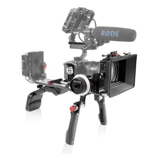 Sony FX3 Shoulder Mount Matte Box Follow Focus
